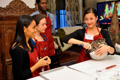 Baking Cookies at the Hershey's Baking Party and Cookie Exchange at Robert Verdi's Luxe Laboratory in New York, NY | Photo Courtesy of JSH&A Public Relations