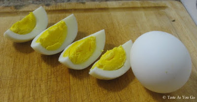 Hard-Boiled Eggs - Photo by Taste As You Go