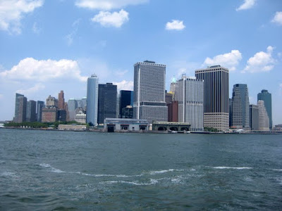View from the Governors Island Ferry - Photo by Taste As You Go