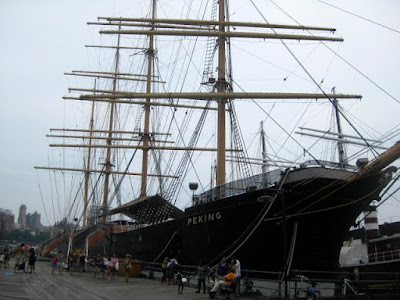 South Street Seaport in New York, NY - Photo by Taste As You Go