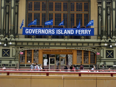 Governors Island Ferry - Photo by Taste As You Go