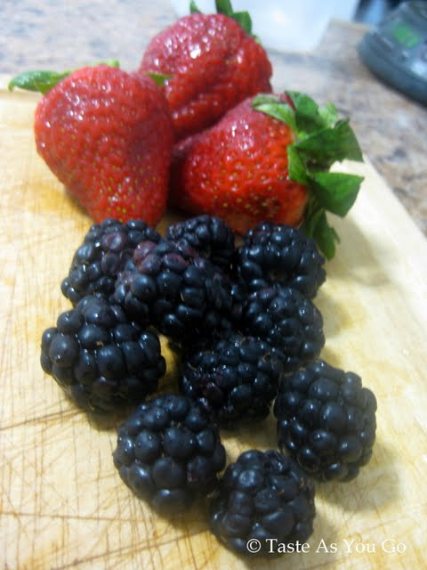 Strawberries and Blackberries | Taste As You Go