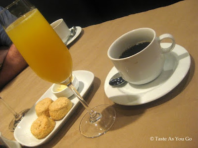 Mimosa and Coffee at Craftbar in New York, NY - Photo by Taste As You Go