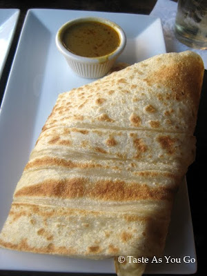 Roti at Bentara in New Haven, CT - Photo by Taste As You Go
