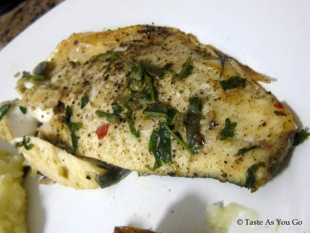 How To: Reheat Leftover Fish - Photo by Taste As You Go