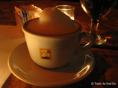 Cappuccino at Sapori d'Ischia in Woodside, NY - Photo by Taste As You Go