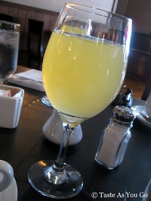 Mimosa at Il Bastardo in New York, NY - Photo by Taste As You Go