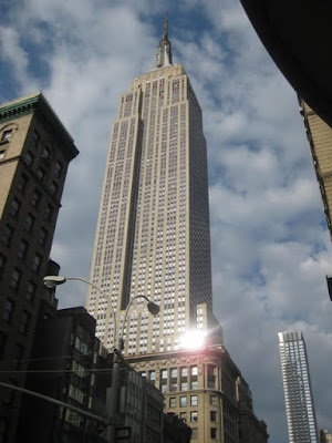 Empire State Building in New York, NY - Photo by Taste As You Go