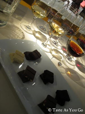 Green & Black's Wine and Chocolate Pairings - Photo by Taste As You Go