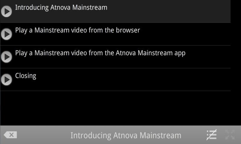 Atnova Mainstream- screenshot