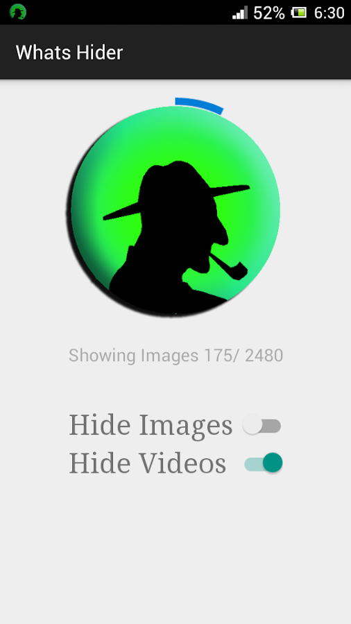 Whats Image Hider- screenshot