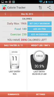 Calorie Tracker Counter