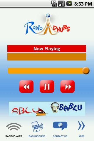 Radio Adhurs - screenshot