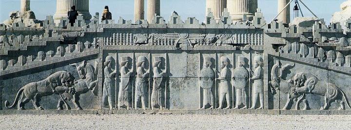 Persepolis Royal Audience Hall Iran 521 465 Bc Persian Art History1 Livejournal