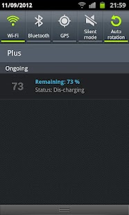 Nice Battery Widget - screenshot thumbnail