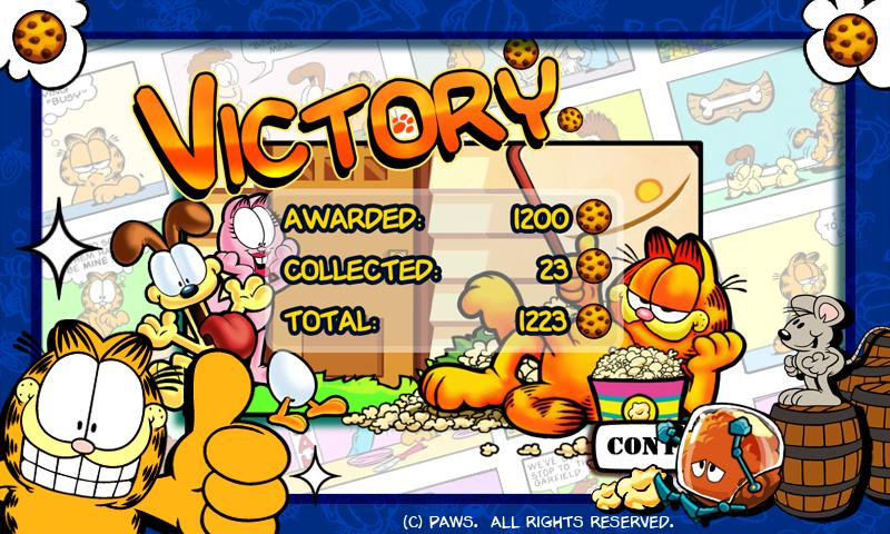 Garfield's Defense - screenshot