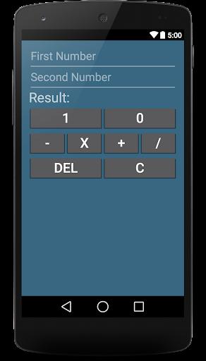 単純なバイナリ電卓