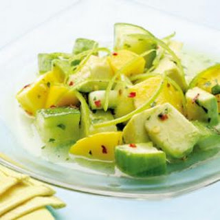 Tropical Cucumber Salad.