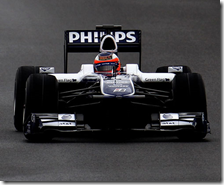 Barrichello con la Williams