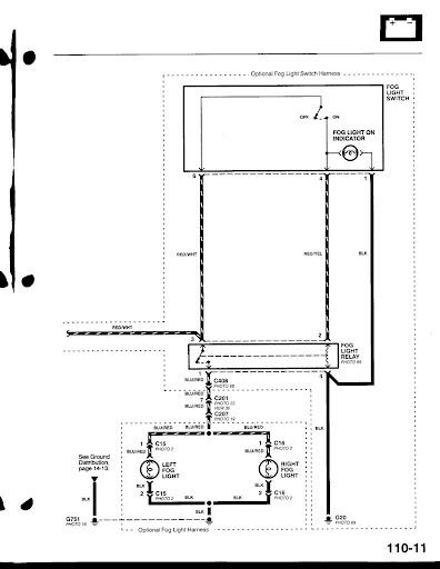 fog lights wiring diagram 99 00 civic ebay fog light switch which wire is which  99 00 civic ebay fog light switch