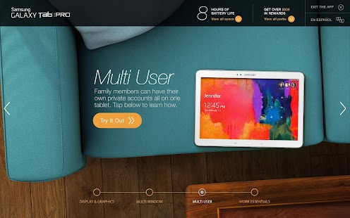 Tab® Pro 10.1 Owner's Demo - screenshot thumbnail