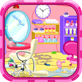 Clean up hair salon APK Descargar