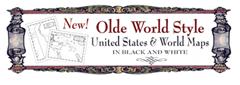 Olde World Style Maps