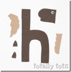 Totally Tots Now I Know My ABC s h is for horse