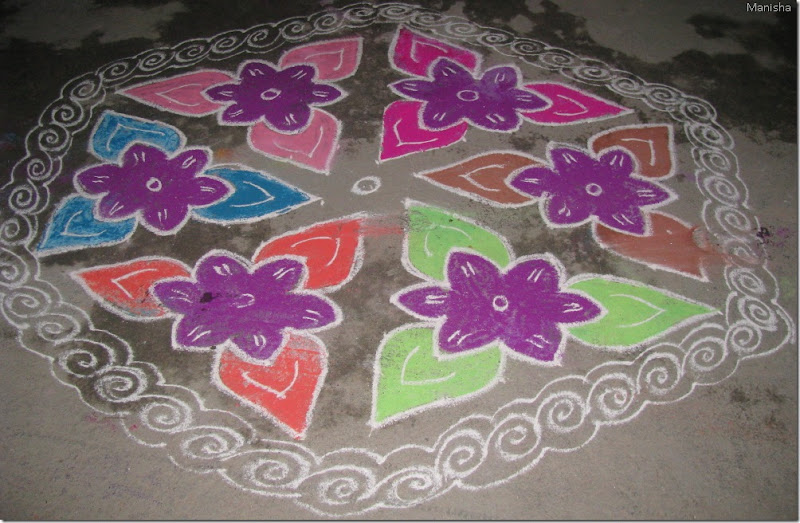 Happy New Year Rangoli Design Gallery 47