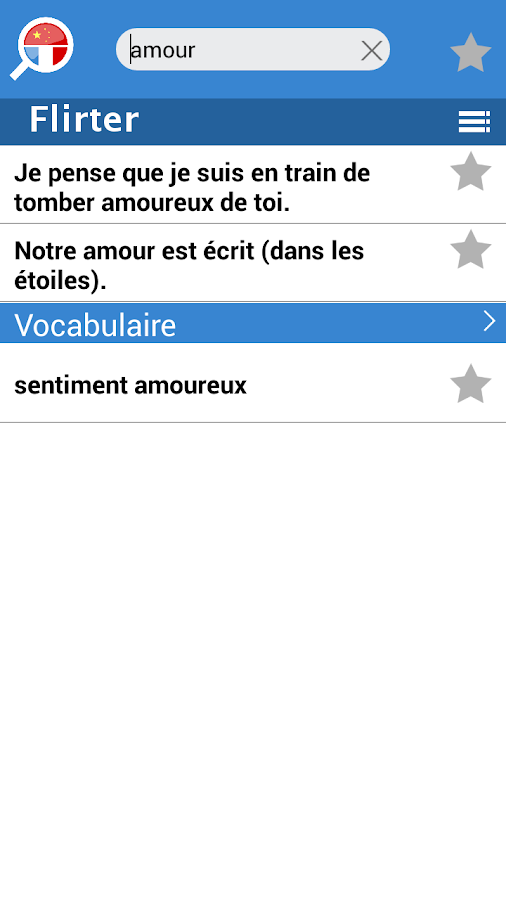 Question pour flirter