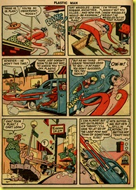 2_Plastic Man car chase issue 16 Jack Cole