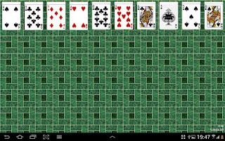 Screenshot of Spider Solitaire Free Game
