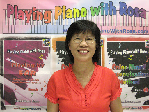 Piano Lessons App with Rosa