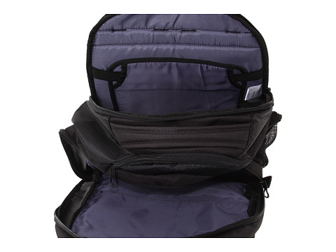 9f2301a89a96 Front pocket with deluxe organizer pockets. Airmesh back panel helps ease  load weight. 3-D embroidered brandmark. Fabric  400D Polyester Hexagon  Ripstop