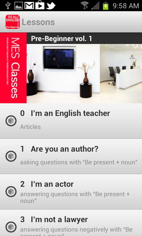 Real English PreBeginner Vol.1 - screenshot