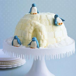 Igloo Cake.