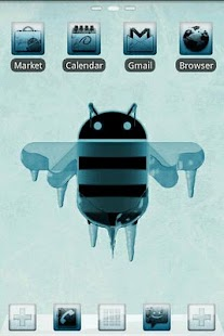 ICY GO Launcher Theme - screenshot thumbnail