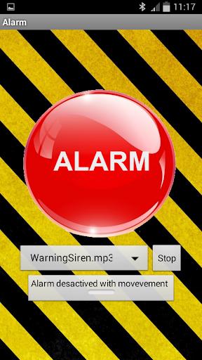 Warning Alarm