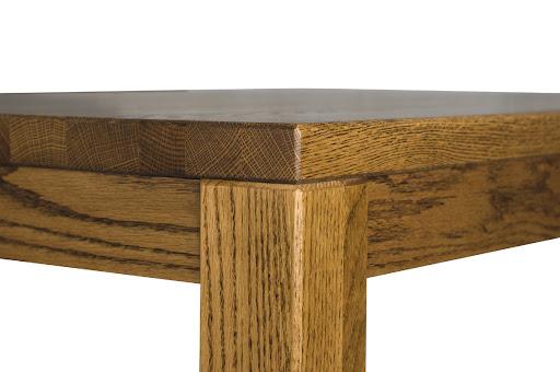 Ashton Table Detail in Medium Oak
