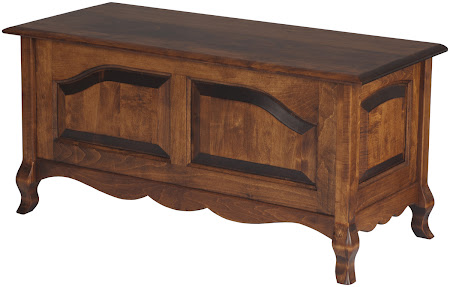 Matching Furniture Piece: Orleans Chest in Royal Maple