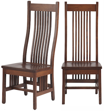Vail Chair in Mahogany Oak