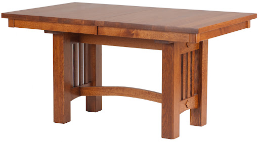 """60"""" x 42"""" Albany Mission Table in Autumn Oak"""