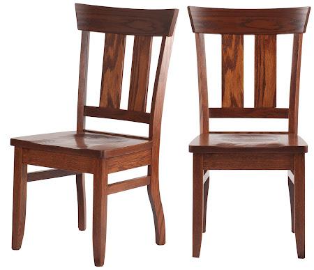 Monaco Chair in Rustic Oak