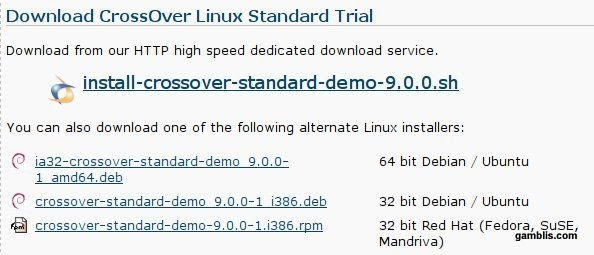 Wine Reviews : Howto Install CrossOver Linux Standard 9 0 on