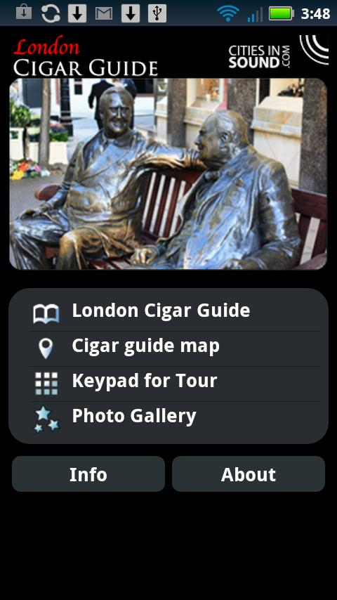 The London Cigar Guide- screenshot