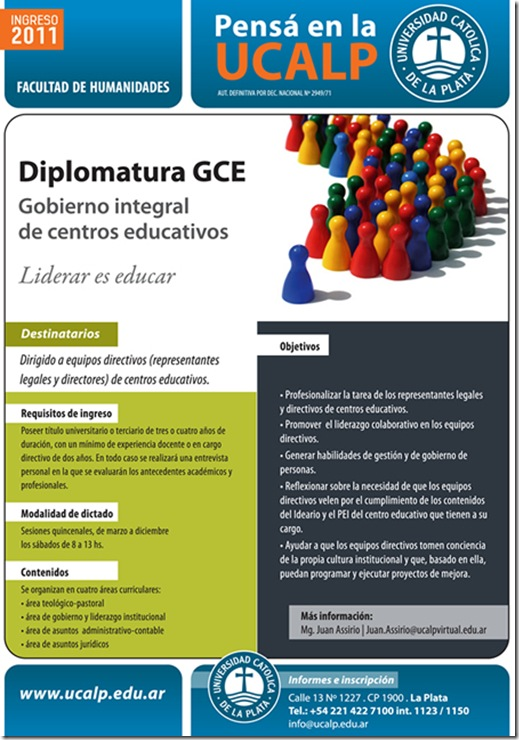 Diplomatura gestion educativa