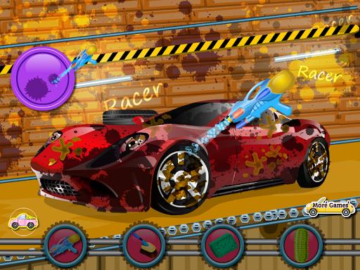 女の子のための車のゲーム