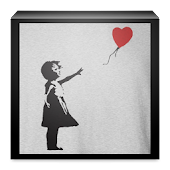 Bansky Graffiti for whatsapp