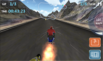 Screenshot of Speed City Moto