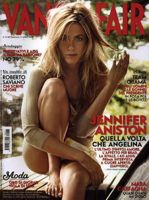 Chris Mcmillan Jennifer Aniston On The Cover Of Vanity Fair